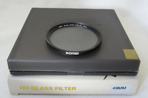 49mm Zomei DW1 Wide Band Pro Slim MC-UV Filter