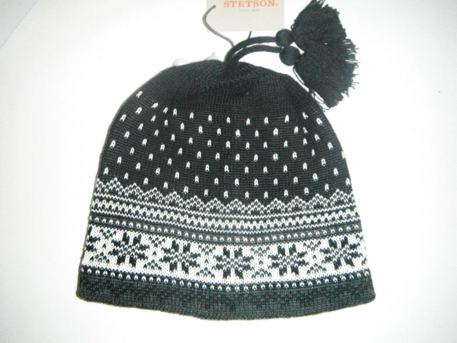 STETSON  wool blend BEANIE CAP
