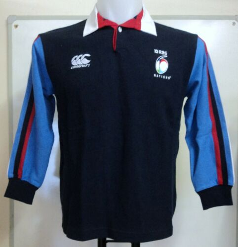 6 NATIONS RUGBY SUPPORTERS JERSEY BY CANTERBURY SIZE BOYS 10 YEARS BRAND NEW