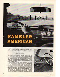 1961-RAMBLER-AMERICAN-195-125-HP-ORIGINAL-6-PAGE-ROAD-TEST-ARTICLE-AD