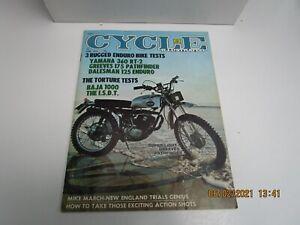 Cycle Illustrated Magazine Apri 1972 - YAMAHA  360 RT2 - GREEVES PATHFINDER