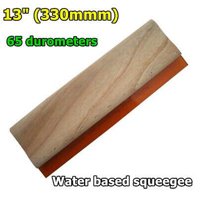"""13/"""" 330mm Silk Screen Printing Squeegee Scraper Scratch Board Waterbase 65"""