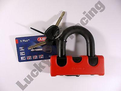 New ABUS granite 67 power Xplus security tech pad lock disc lock red padlock
