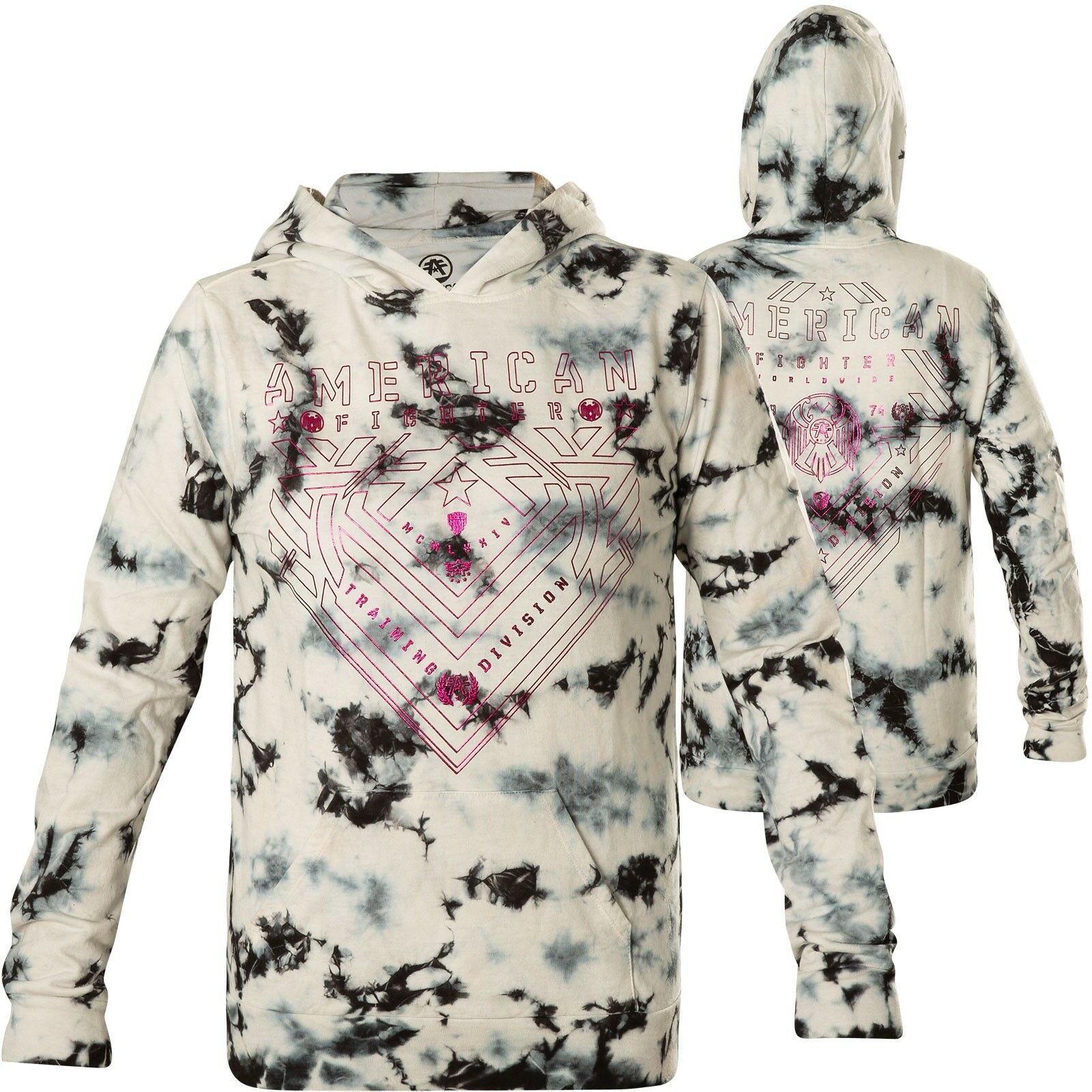 American Fighter by Affliction Woman Hoody ParksideWhite/Grey