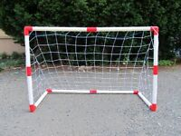 Set Of 2 Junior Soccer Goals For Kids (4x3feet), New, Free Shipping on sale