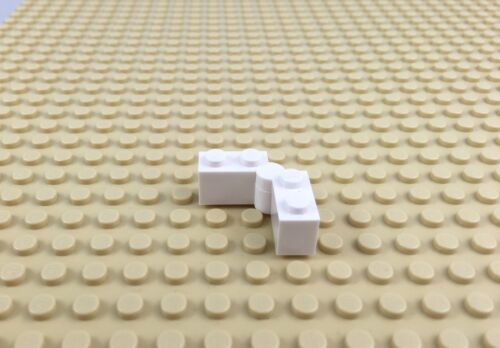 Lego Part 2x 3831 3830 White Hinge Brick Hoth Replacement Brick Fast Post!