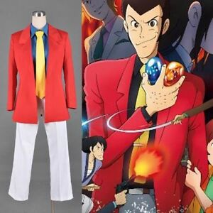 NEW-Lupin-the-third-3rd-III-Rupan-Sansei-Set-Cosplay-costume