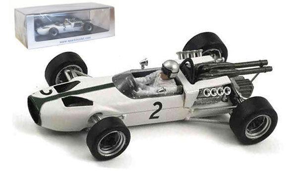 Spark S3093 McLaren M2B Ford Monaco GP 1966 - Bruce McLaren 1 43 Scale