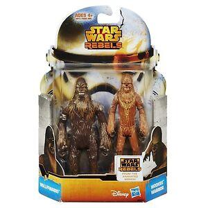 Star Wars Hasbro Rebels Wullffwarro And Wookiee Warrior NEW NEU OVP
