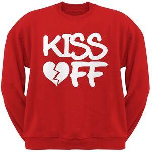 ras du rouge pour adulte shirt cou ValentinSweat Saint f7vY6ybg