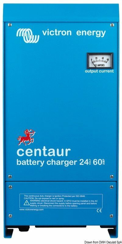 Ladegerät Victron Zentaur 24 V 40 A Marca Victron energy Blau power 14
