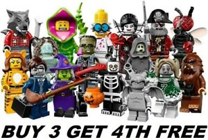 LEGO-MINIFIGURES-SERIES-14-71010-MONSTERS-PICK-CHOOSE-YOUR-OWN-BUY-3-GET-1-FREE