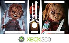 Xbox 360 CHUCKIE CHILDS PLAY Vinyl Skin Decal Sticker