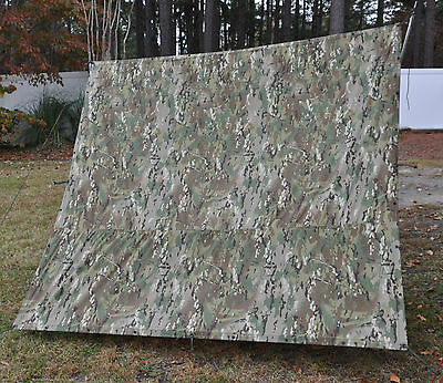 US Army Crye Multicam Tarp Brand New Survival Shelter Water repellent