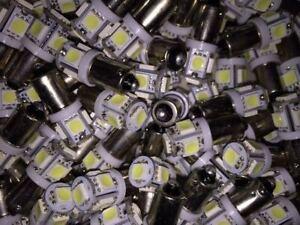 (6) TU-666-- BAYONET LED LAMP KIT 6.3V/ BLUE or GREEN - TUNER DIAL LIGHTS Sansui