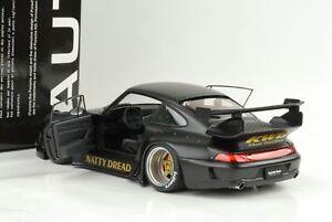 1996-Porsche-911-993-RWB-RAUH-WELT-Matt-Black-1-18-AUTOart-78154