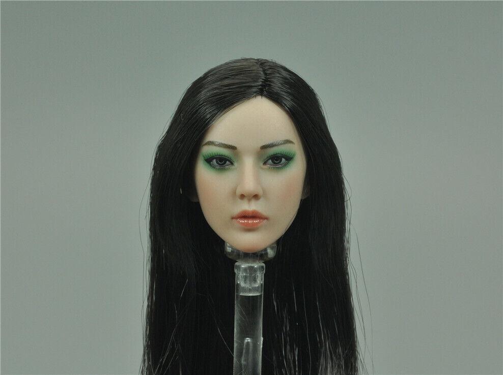 Head Sculpt for TBLeague PL2018-136 CAREER KILLER KIYOHA 1 6 Scale 12'' New