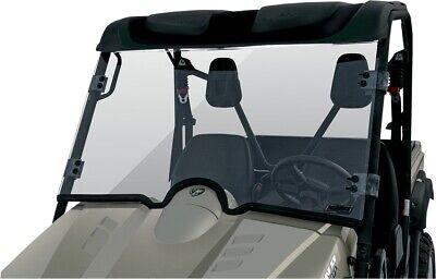 Quadboss Folding Full Front Windshield Yamaha Rhino 450 660 700 2004-2014