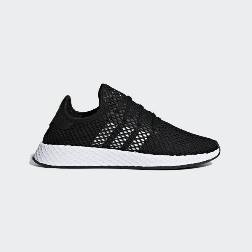 Adidas Originals deerupt Runner bd7890 zapatillas caballero negro blancoo top hit nuevo
