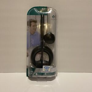 Logitech Desktop Microphone 600 W/ Stand And Monitor Mount Skype Certified