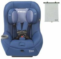Maxi-cosi 2016 Pria 70 Convertible Car Seat In Blue Base Bonus Recaro Sunshade