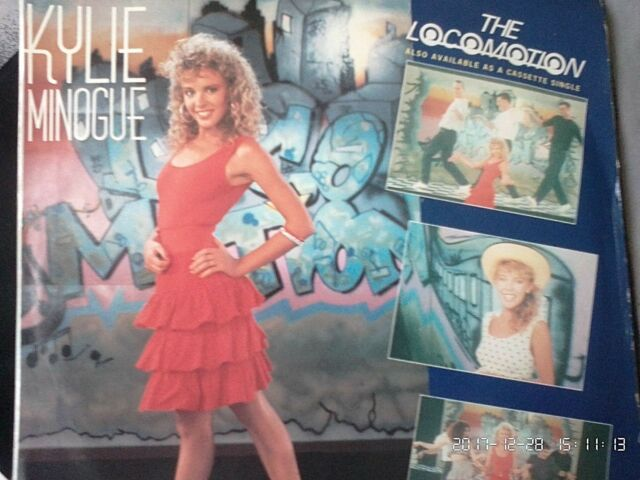 KYLIE MINOGUE-THE LOCO-MOTION.US MIX.7'' SINGLE