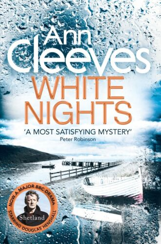 1 of 1 - ANN CLEEVES __ WHITE NIGHTS __ BRAND NEW HUT COVER __ FREEPOST UK