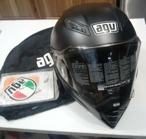 AGV Ax-8 EVO Naked Helmet Matte Black 7521O4E0002005 Small