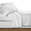 4-Pc-Premier-Bed-Sheet-Set-King-Size-White-1800-Series-Brushed-Microfiber-New thumbnail 2