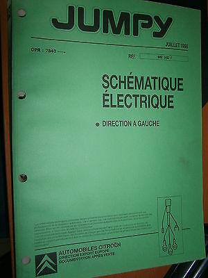 schémas électrique 1999 à partir de l/'OPR 7843 à 8210 Citroën EVASION