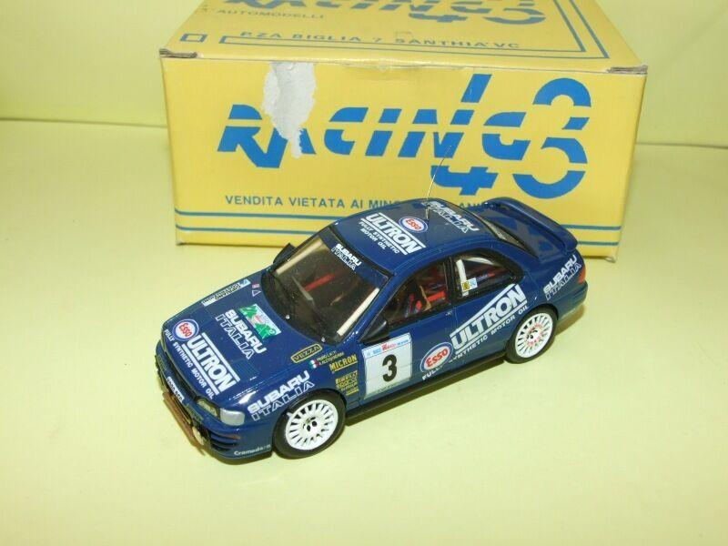 SUBARU IMPREZA RALLYE IL CIOCCO 1995 LIATTI RACING 43 1 43 kit