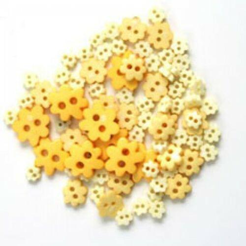 Miniatura De Flor Botones-Amarillo