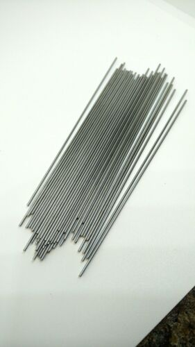 """.040 dia 4/"""" long wire. Stainless Steel wire  shafts Details about  /200 pc"""