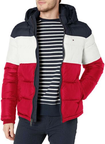 $275 Mens Tommy Hilfiger Full Zip Classic Hooded P