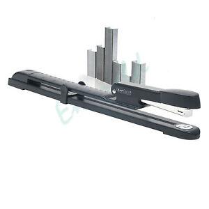 Long-Arm-Full-Reach-Stapler-2-Packs-of-1000-Staples-Fast-Dispatch
