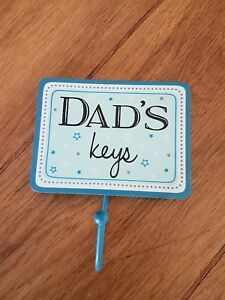 Image Is Loading Dads Keys Hook Sass And Belle Key Gift