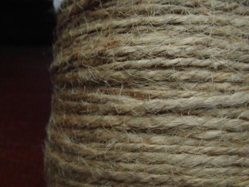 10m beige 1.5mm 2mm hemp cord twine