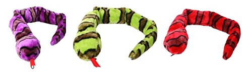 Petface Plush Snake With Squeaker Dog Toy 70cm