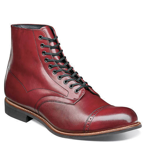 Stacy Adams Mens Madison Ankle Stiefel Cap Toe Lace Cranberry  00101-608