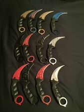 CSGO huge lot of 12 different colour CSGO karambits knives-SHIPPED FROM CANADA-