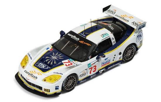 Corvette C6-R th Le Mans 2008 whitehemain   Gouselard   Pasquali 1 43