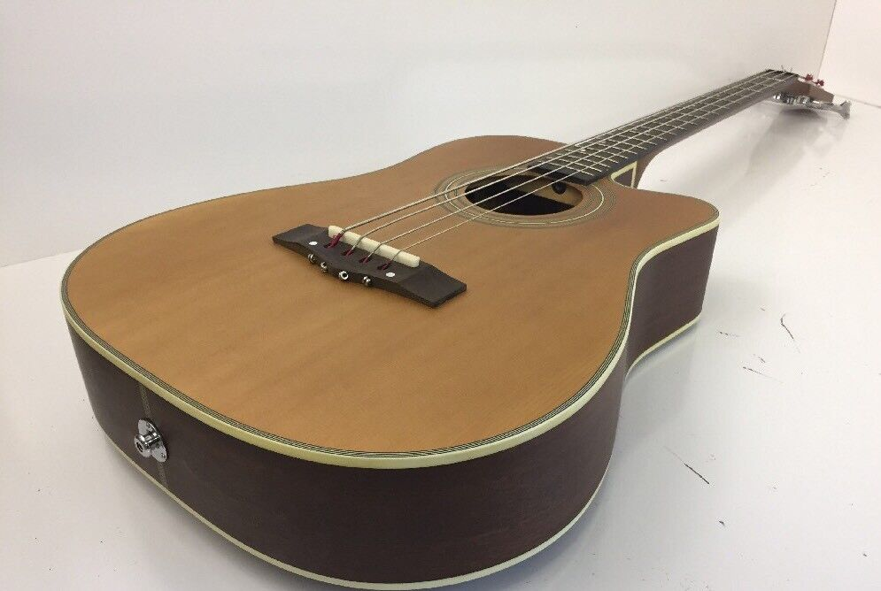 Guitar Acoustic Electric Johnson By AXL AG-700-BC Mit Tragetasche