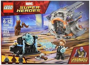 LEGO Marvel Super Heroes Avengers Infinity War Thor's Weapon Quest 76102...