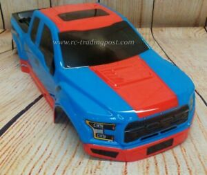 Custom-Painted-Body-Ford-F-150-Raptor-For-1-10-RC-Monster-Truck-Traxxas-Stampede
