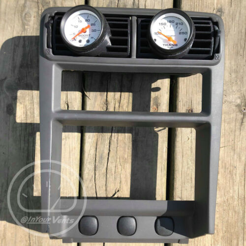 1994-2004 Ford Mustang 2-1//16 Angled Center Vent Gauge Pod Autometer