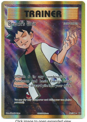 - XY Evolutions Holo 107//108 NM//M Brock/'s Grit