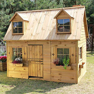 kinderhaus kinderspielhaus gartenhaus holz spielhaus holzhaus f r kinder gro ebay. Black Bedroom Furniture Sets. Home Design Ideas