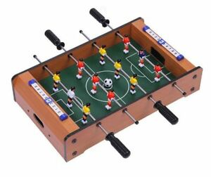"New Table Top Football 20"" Air Hockey Pool Kids Children Family Fun Gift Wooden"