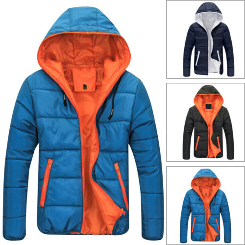 4XL Men/'s Winter Warm Down Jacket Ski Jacket Snow Hooded Coat Climbing Plus Size