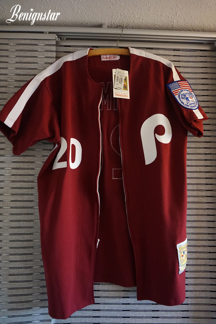 Mitchell & Ness Mike Schmidt Replica 1979 Japan Series Road Jersey USA version